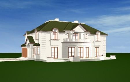 Animacja - Projekt domu Ambasador