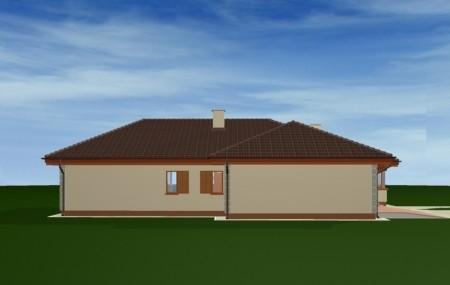 Animacja - projekt domu Komfortowy