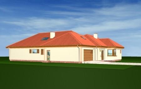 Animacja - projekt domu Komfortowy 2
