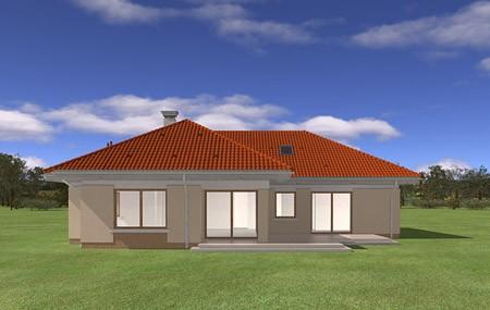 Animacja - Projekt domu Komfortowy 3