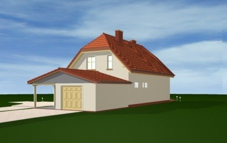 Animacja - projekt domu Krzysztof