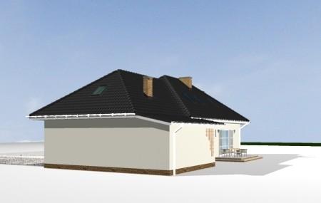 Animacja - projekt domu Magnolia