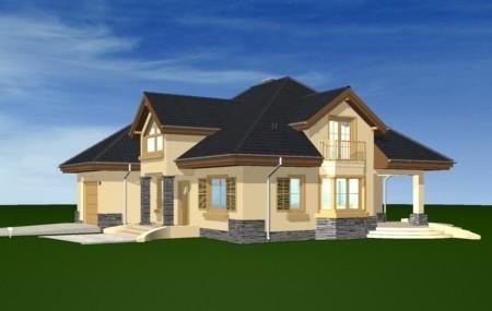 Animacja - projekt domu Maja