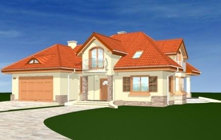 Animacja - projekt domu Maja 2