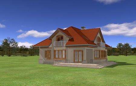 Animacja - projekt domu Maja 4