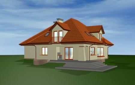Animacja - Projekt domu Agnieszka