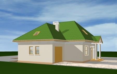 Animacja - projekt domu Mazurek 2
