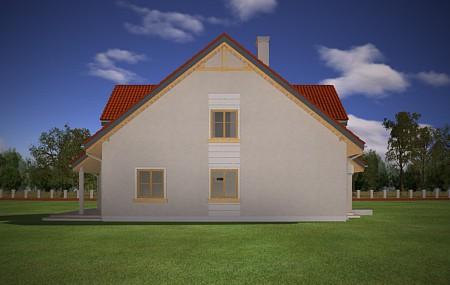 Animacja - Projekt domu Mewa