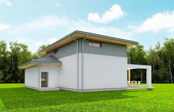 Animacja - Projekt domu Modena
