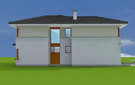 Animacja - projekt domu Riwiera