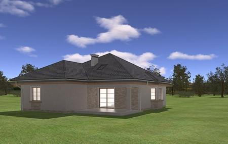 Animacja - projekt domu Natalia 4