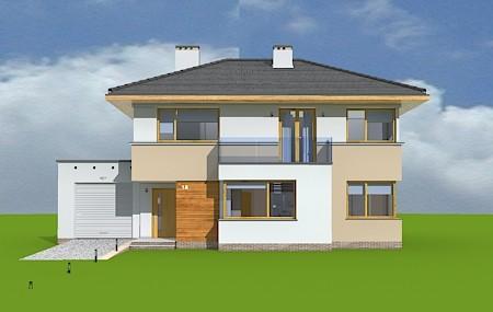 Animacja - projekt domu Nieduży
