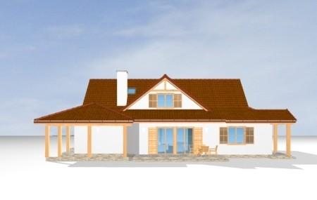 Animacja - Projekt domu Czapla