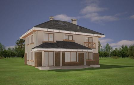 Animacja - projekt domu Tukan