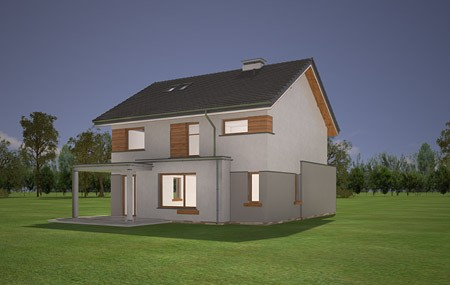 Animacja - projekt domu Miranda