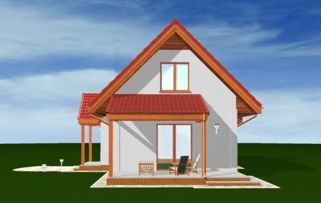 Animacja - projekt domu Okruszek