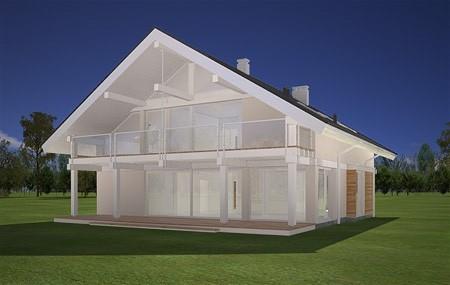 Animacja - projekt domu Otwarty