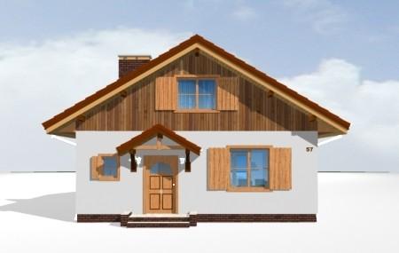 Animacja - Projekt domu Pchełka