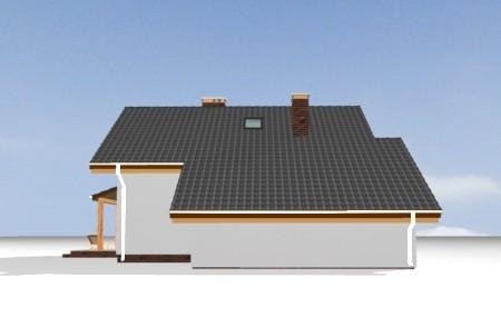 Animacja - Projekt domu Pchełka z garażem