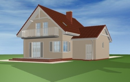 Animacja - Projekt domu Pierwszy dom 3