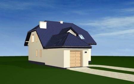 Animacja - Projekt domu Pogodny 4