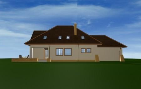 Animacja - projekt domu Benedykt