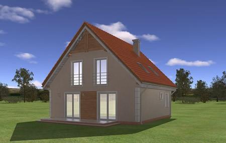 Animacja - projekt domu Małgosia
