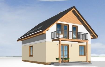 Animacja - projekt domu Praktyczn A