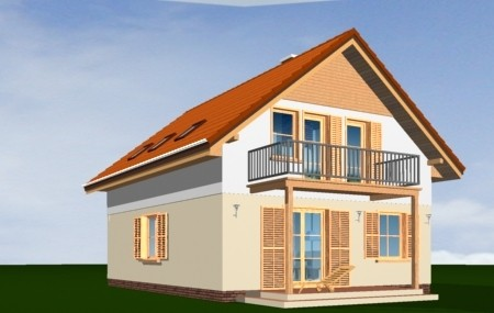 Animacja - projekt domu Praktyczny B