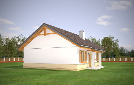 Animacja - projekt domu Żabka