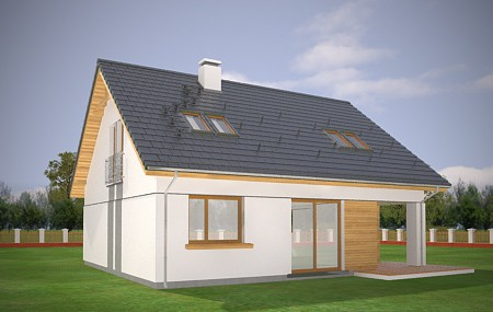 Animacja - Projekt domu Optymalny