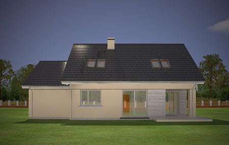 Animacja - Projekt domu Optymalny 2
