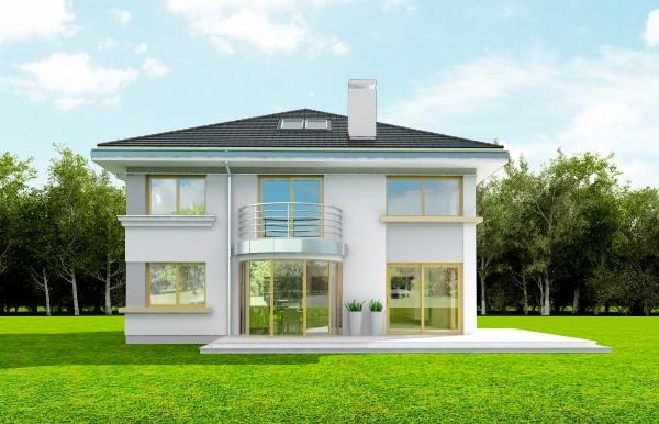 Animacja - projekt domu Szafir