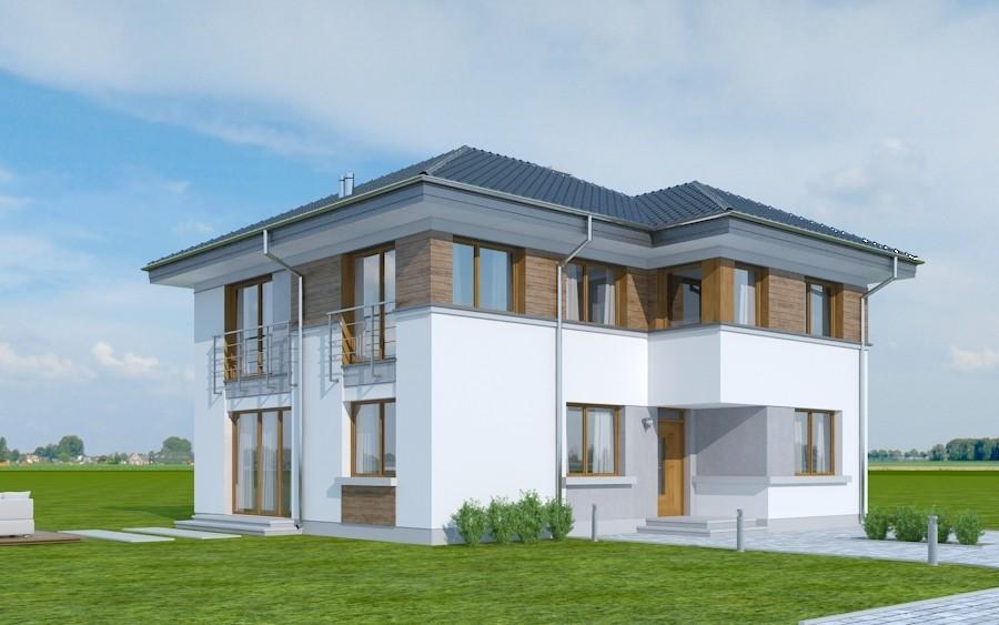 Animacja - Projekt domu Tytan 2 B