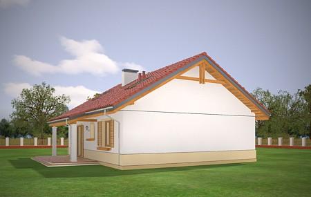Animacja - projekt domu Żabka 2