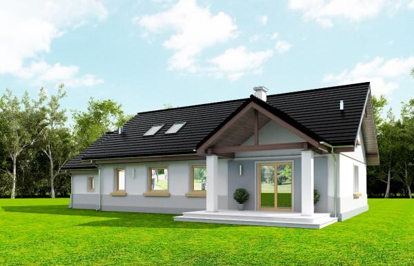 Animacja - Projekt domu Anatol 2