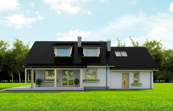 Animacja - Projekt domu Bryza 4