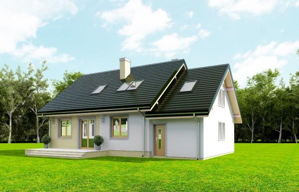 Animacja - Projekt domu Bryza 6