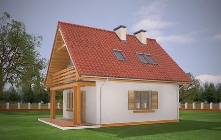 Animacja - Projekt domu Milutki