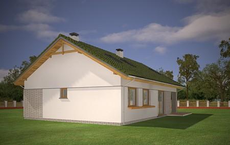 Animacja - Projekt domu Oliwka 2