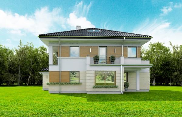 Animacja - Projekt domu Opal 2