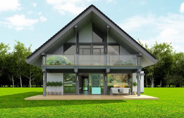 Animacja - Projekt domu Otwarty 4