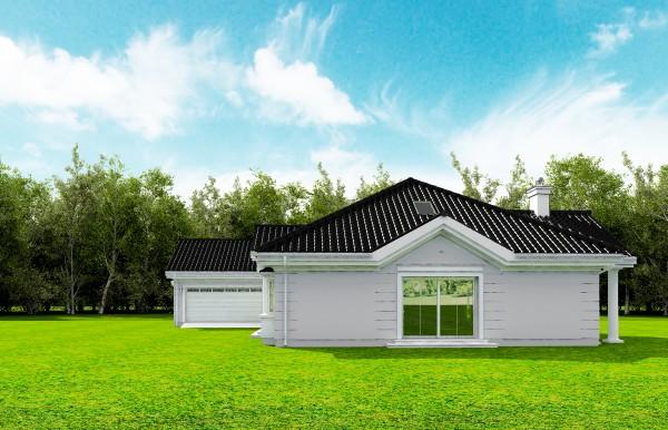 Animacja - Projekt domu Rezydencja Parkowa 3