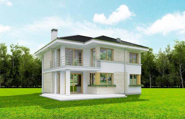 Animacja - Projekt domu Riwiera 4