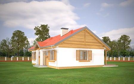 Animacja - projekt domu Słoneczny 2