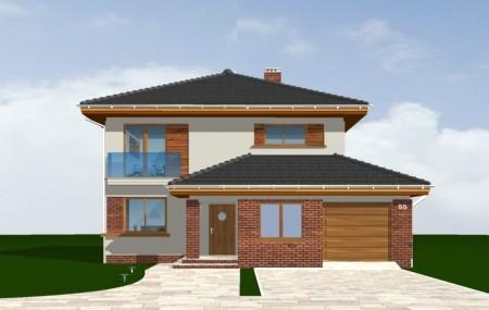 Animacja - projekt domu Szmaragd 3