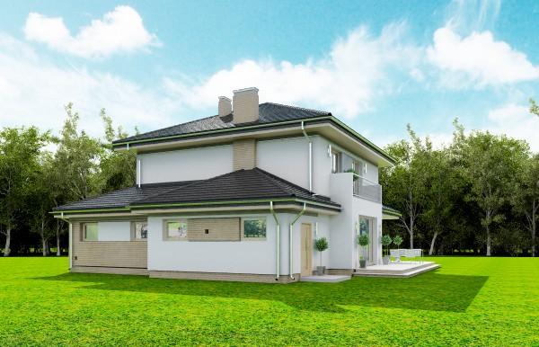 Animacja - Projekt domu Szmaragd 4