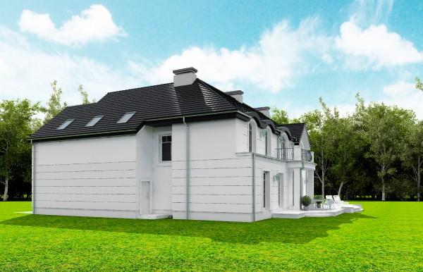 Animacja - Projekt domu Willa Anna Maria