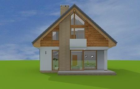Animacja - projekt domu Prosty