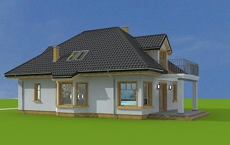 Animacja - projekt domu Prymus